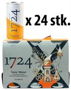 1724 Tonic Water CANS x 24 Cans in box - Perfect for Gin and Tonic 20 cl