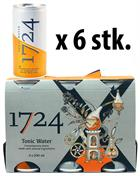 1724 Tonic Water CANS x 6 Cans in box - Perfect for Gin and Tonic 20 cl