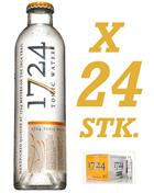1724 Tonic Water x 24 stk in box - Perfect for Gin and Tonic 20 cl