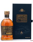 Aberfeldy 21 Year Old Single Malt Highland Whisky 40%