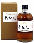 Akashi White Oak Blended Japanese Whisky 50 cl. Whisky Japan 40%
