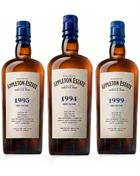 Appleton Estate Hearts Collection Velier 1994/1995/1999 Jamaica Rum 3x70 cl 60-63%