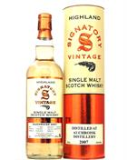 Auchroisk 2007/2018 Signatory 11 years old Single Speyside Malt Whisky 70 cl 43%