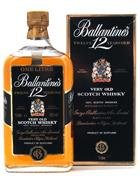Ballantines 12 year old Very Old Scotch Whisky 100 cl 43%