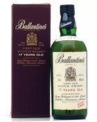 Ballantines 17 year old Duty Free Old Version Blended Whisky 43%