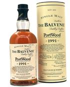 Balvenie 1991/2004 Portwood Single Speyside Malt Whisky 40%