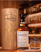 Balvenie 40 år Single Speyside Malt Whisky 48,5%