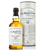 Balvenie 12 year old First Fill Single Barrel Speyside Malt Whisky 47,8%