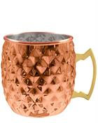 Moscow Mule Cup Diamond hammered Moscow Mule Mug Tom Fox