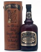 Bowmore 12 år Dumpy Old Version Liter Single Islay Malt Whisky 43%