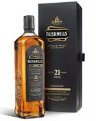 Bushmills 21 year old 2013 Edition Single Irish Malt Whiskey 40%