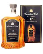 Canadian Club Classic 12 year old Old Version Blended Canadian Whisky 40%