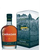 Cañaoak Rum Premium Blended Canaoak Gold Rum 40%