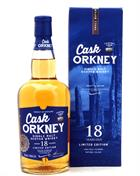 Cask Orkney 18 years old Dewar Rattray Limited Edition Single Orkney Malt whisky 46%
