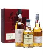 The Classic Malts Collection Box Set 3x20 cl Single Malt Whisky  43%
