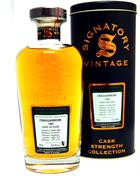 Cragganmore 1985/2013 Signatory Vintage 28 year old Single Speyside Malt Whisky 53,9%