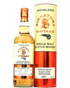 Dailuaine 1997/2019 Signatory Vintage 21 years old Single Speyside Malt whisky 43%