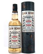 Dailuaine 2007 The Clan Denny 10 year old Single Malt Whisky 48%