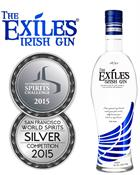 Exiles Irish Gin 70 cl 41%