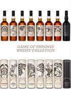 Game of Thrones Whisky Collection - 9x70 cl 40-46%