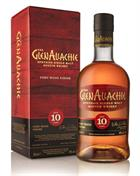 Glenallachie 10 year old Port Wood Finish Single Speyside Malt Whisky
