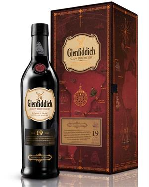 Glenfiddich 19 year old Age of Discovery Red Wine Cask Single Speyside Malt Whisky 40%