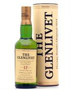 Glenlivet 12 year old version 35 cl Pure Single Scotch Malt Whisky 40%