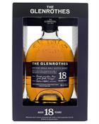 Glenrothes 18 years old Soleo Collection Single Speyside Malt Whisky 43%