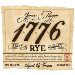 James E. Pepper Whiskey
