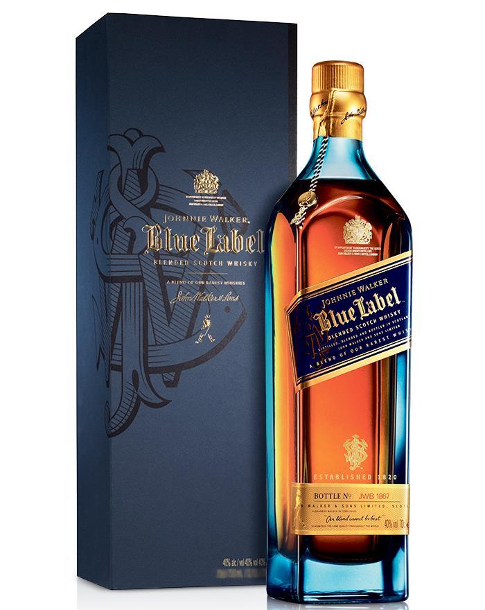 Johnnie Walker Blue Label Scotch Whisky 40
