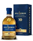 Kilchoman 10 Th Anniversary Release Single Islay whisky 58,2%