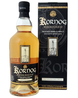 Kornog Sant Ivy 2013 Bourbon Cask  / Glann ar Mor French Single Malt Whisky 58,6%