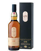 Lagavulin 16 year old Single Islay Malt Whisky 43%