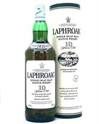 Laphroaig 10 year old - Old Version 1 liters Single Islay Malt Whisky 43%