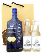 Masters Selection + 4 Gents Tonic Premium London Dry Gin England 70 cl 40%