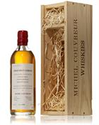 Michel Couvreur 2001/2003 Clearach Single Malt 50 cl.  Jura Vin Jaune cask  43%
