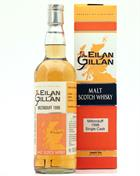 Miltonduff 1998/2008 Eilan Gillan 10 year old Single Cask Speyside Malt Whisky 46%