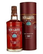 New Grove 10 years Old Tradition Rum from Mauritius Island