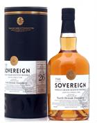 North British 1989/2016 Sovereign 26 år Single Grain Scotch Whisky 59,9%