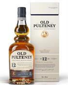 Old Pulteney 12 years old Single Highland Malt Whisky 40%