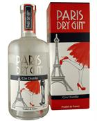 Paris Dry Gin Small Batch Distilled France 70 cl 44%