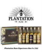Plantation Giftbox Miniature / Mini Bottle 6x10 cl Experience Rum 40% to 43,5%