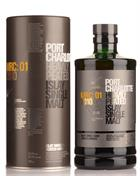 Port Charlotte MRC 01 Heavily Peated 2010 Bruichladdich Single Islay Malt Whisky 59.2%