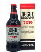 Rogue Rolling Thunder Imperial Stout 2019 Beer 50 cl Øl USA 12,8%
