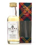Scapa 2001/2012 Miniature / Mini Bottle 5 cl Single Orkney Malt Whisky 43%