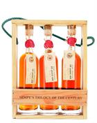 Sempes Trioligy of the Century Giftbox 15 to 35 years old Miniature / Mini Bottle 3x20 cl Armagnac 40%