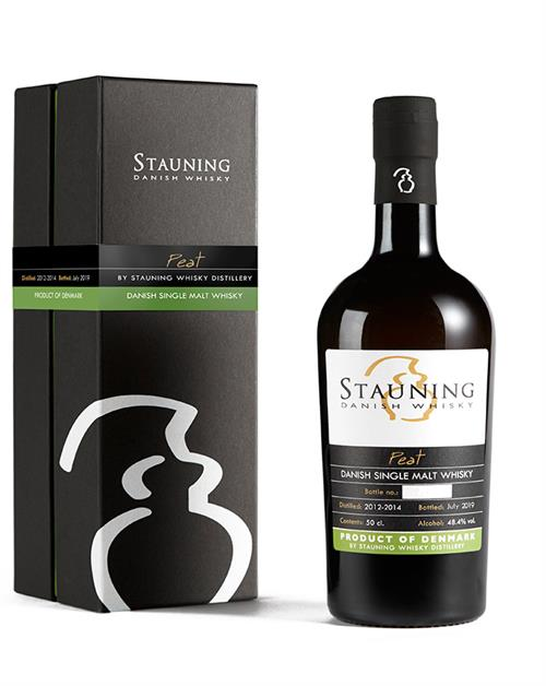 STAUNING PEATED 8th Edition 2012/2019 Dansk Single Malt Whisky 48,4%