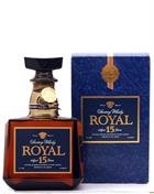 Suntory Royal 15 year old Blended Whisky Japan 43%