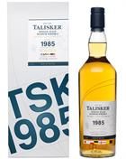 Talisker 1985 Vintage 27 år Single Malt Whisky Skye 56,1%