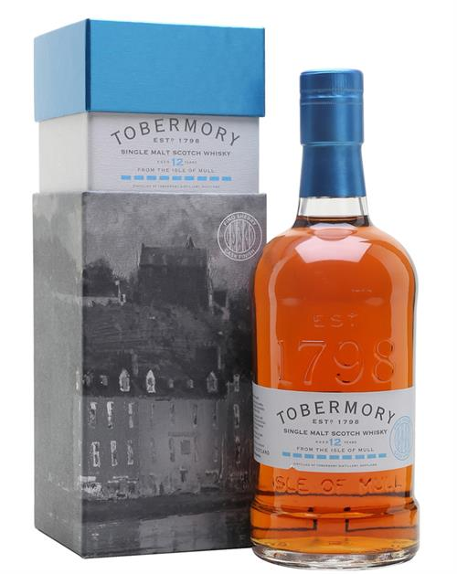 Tobermory 12 years old Fino Sherry Cask Finish Single Island Malt Whisky 55,1%